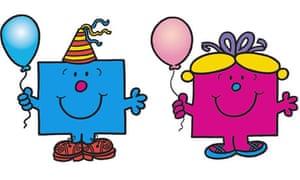 Mr Birthday and Little Miss Birthday