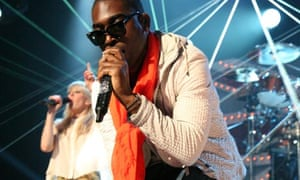 Tinie Tempah performs at the BRIT Awards 2011.
