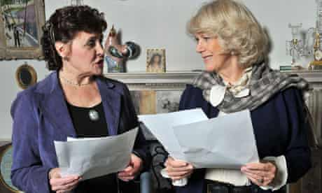 The Archers: Sara Coward (Caroline Sterling) and Camilla, Duchess of Cornwall