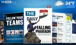 The Daily: the news 'carousel'