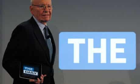The Daily launch: Rupert Murdoch