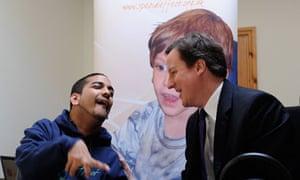David Cameron: SpecialEffect