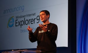 IE9 launch: Dean Hachamovitch