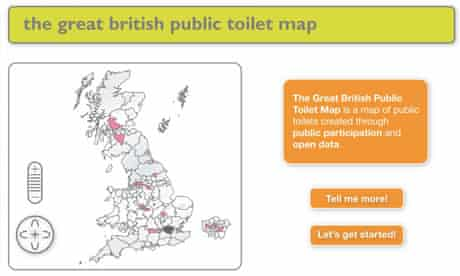 The Great British Public Toilet Map