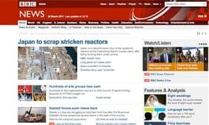 The BBC News site