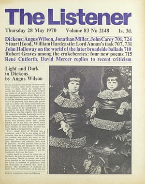 The Listener: Light and Dark in Dickens by Angus Wilson