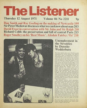 The Listener: Unemployment in the Seventies