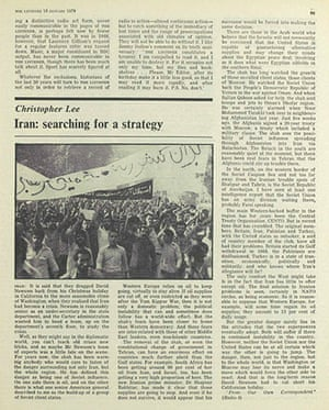 The Listener: Iran: Searching For A Strategy