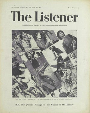 The Listener: HM The Queen's message to the women of the empire