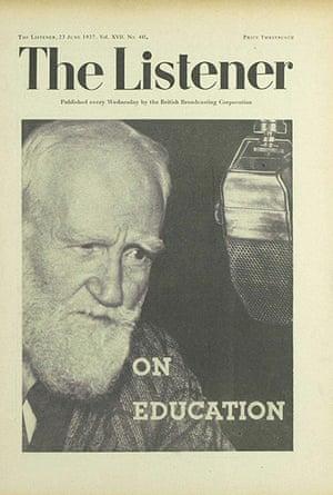 The Listener: George Bernard Shaw