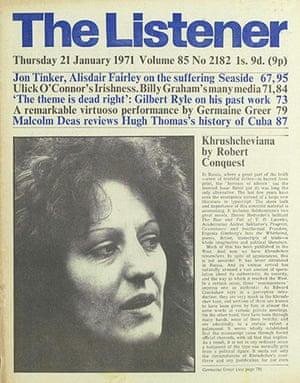 The Listener: Germaine Greer