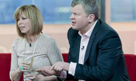 Kate Garraway and Adrian Chiles on Daybreak