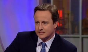 David Cameron on The One Show