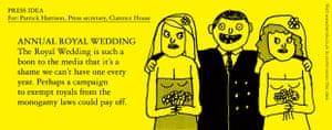 Benrik Pitch: Annual royal wedding