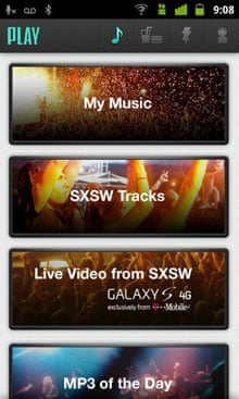 Play by AOL Music app