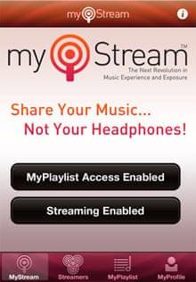 MyStream app