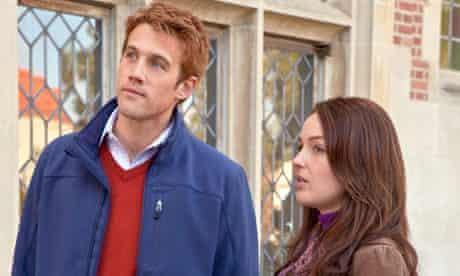 Nico Evers-Swindell as Prince William and Camilla Luddington as Kate Middleton