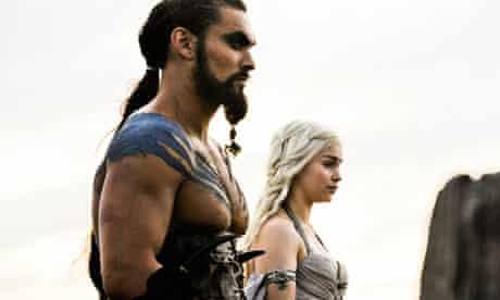 Game Of Thrones episode one: Jason Momoa and Emilia Clarke