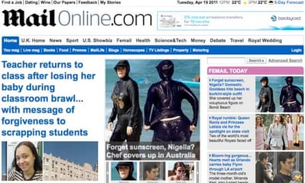 Mail Online 19 April 2011