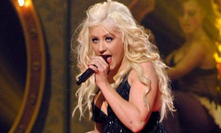 The X Factor 2010 final: Christina Aguilera