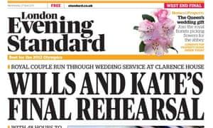 London Evening Standard - April 2011