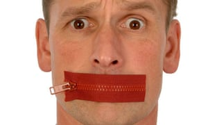 Man with a zip across his mouth. Image shot 09/2005. Exact date unknown.
