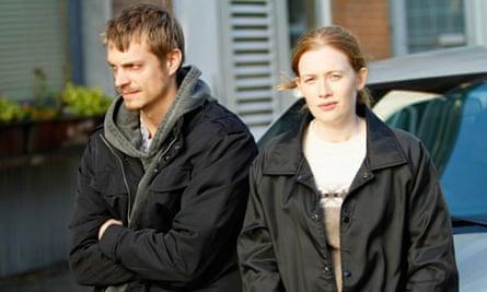 AMC's The Killing: Stephen Holder and Sarah Linden