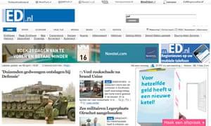 Eindhovens Dagblad website