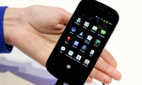 Samsung's Nexus S smartphone using Android 2.3 Gingerbread