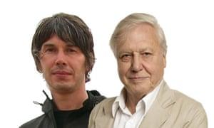 Brian Cox and David Attenborough