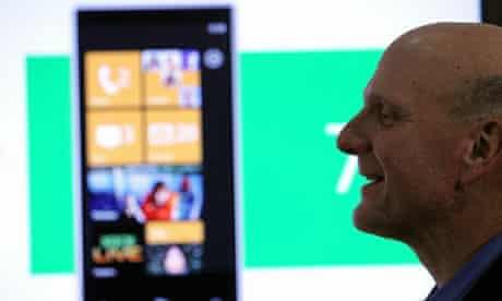 Microsoft CEO Steve Ballmer Unveils Windows Phone 7 At Open House
