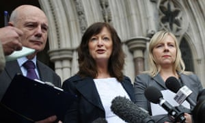 Sharon Shoesmith outside the High Court