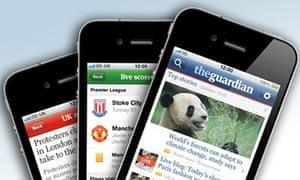 Guardian iPhone app