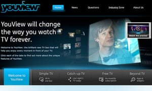 YouView website