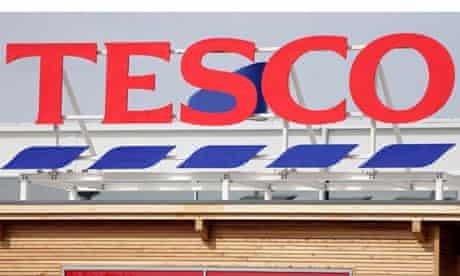 Tesco store in Callington