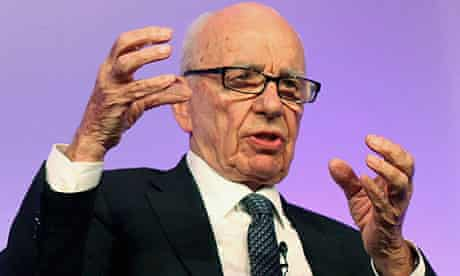 News Corp Chief Executive Rupert Murdoch attends The Times CEO summit at the Savoy Hotel in London