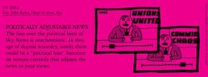 Benrik Pitch: Politically adjustable news