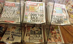 Last ever issue of News of The World newspaper