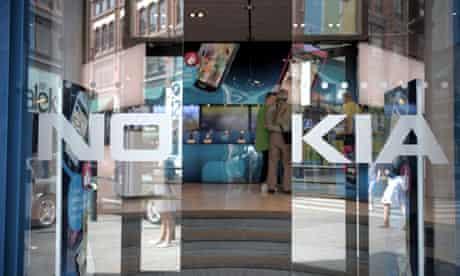 Nokia has reported a loss for the second quarter