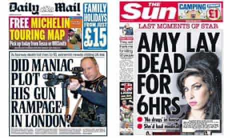 Daily Mail and the Sun