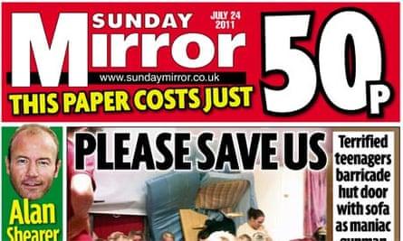 Sunday Mirror - July 2011