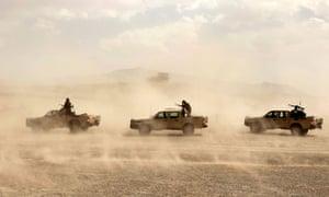 Uruzgan Province in southern Afghanistan