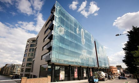 Guardian Media Group offices at Kings Place in London