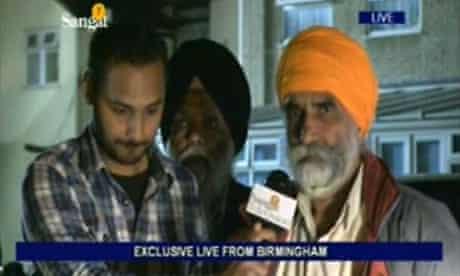 Sangat TV's Upinder Randhawa covers the Birmingham riots
