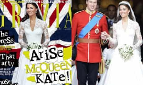 Kate Middleton Photoshopped by Grazia