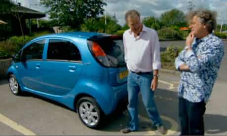 Top Gear disabled parking row