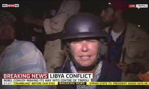 Sky News: Alex Crawford reporting from Libya