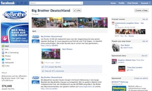 Big Brother Germany's Facebook page