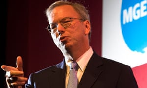 Google's Eric Schmidt delivers the MacTaggart lecture
