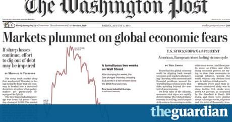 Washington Post 39 S Profits Dive By 50 Media The Guardian